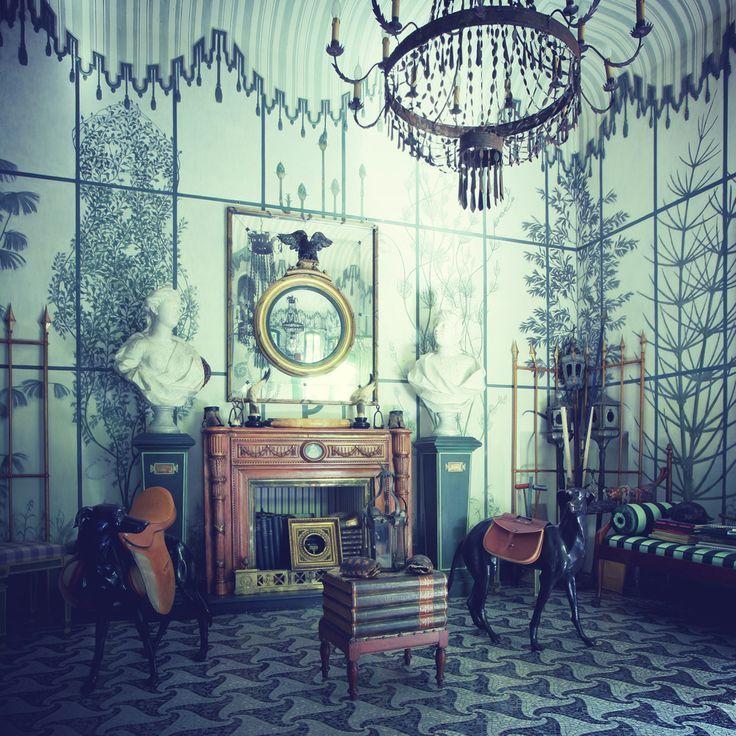 Vintage Living Rooms Images