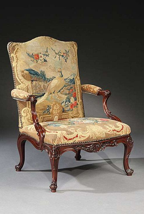 A pair of George II mahogany library armchairs   THE GLEMHAM HALL  GAINSBOROUGH ARMCHAIRS   English785 best English Furniture of the 18th and 19th Centuries  . Antique Library Armchairs. Home Design Ideas