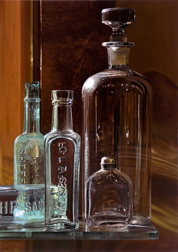 Steve Mills Realistic Paintings  These astonishingly realistic paintings by Steve Mills will have you wondering if they are actually photographs.   More here: http://9bytz.com/steve-mills-realistic-paintings/