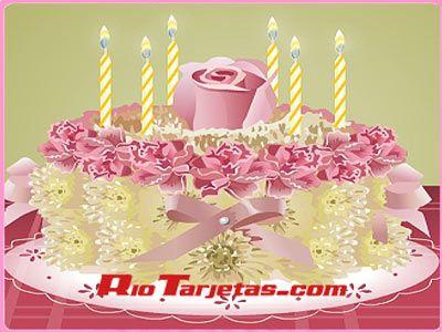 Tarjetas de Cumpleaños, Feliz Cumple, Postales Lindas Gratis Rio ...