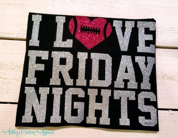 High School Football Shirt, Football Mom Shirts, Womens Football Top, Custom Mom Shirt, Friday Night Lights, Game Day Shirt, School Spirit  by AshleysCustomApparel