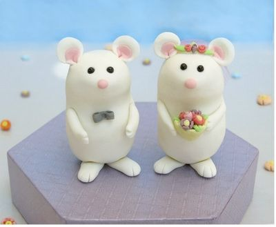 and more fimo cake toppers