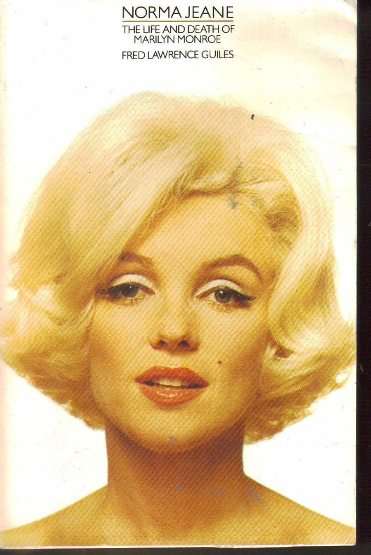 Norma Jeane - The Life & Death of MARILYN MONROE P/B Fred Lawrence Guiles | eBay