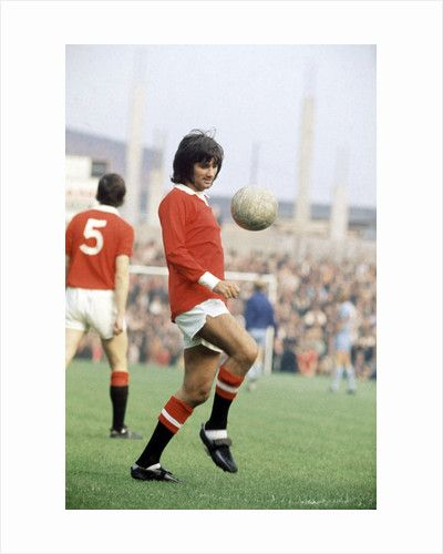 George Best United 1971 by Ernest Chapman