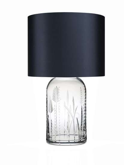 Field English Crystal Tall Table Lamp | The English crystal collection comes in three patterns. This is a Tall (there will be a Short), with the Field pattern, created by the glass artist... view details on www.treniq.com