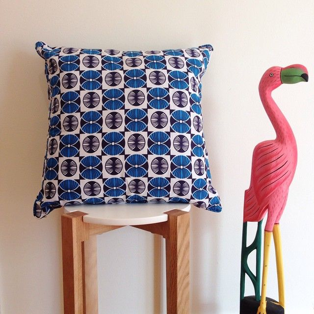 #flamingo #bdakin #ankara #afrochic #cushions