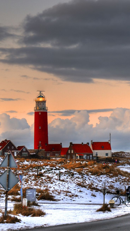 Island Texel, Eierland #Lighthouse, North #Holland, #Netherlands- by flofler