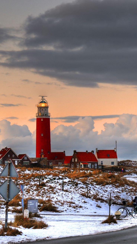 Island Texel, Eierland Lighthouse, North Holland, Netherlands- by flofler