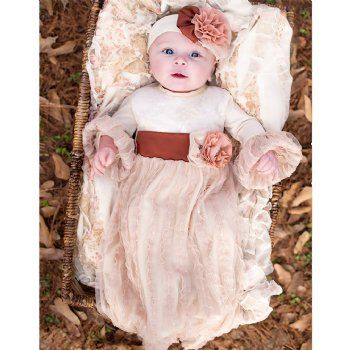 A beautiful Fall/Winter Take Me Home Set and baby shower gift. Part of Haute Baby's Fall 2015 Collection.