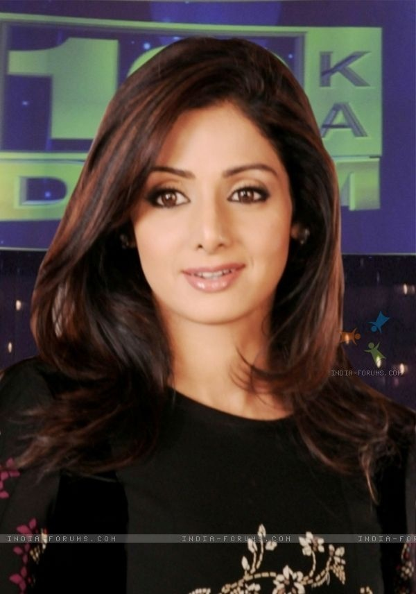 Sridevi- Indian actress of yester-years has made a comeback