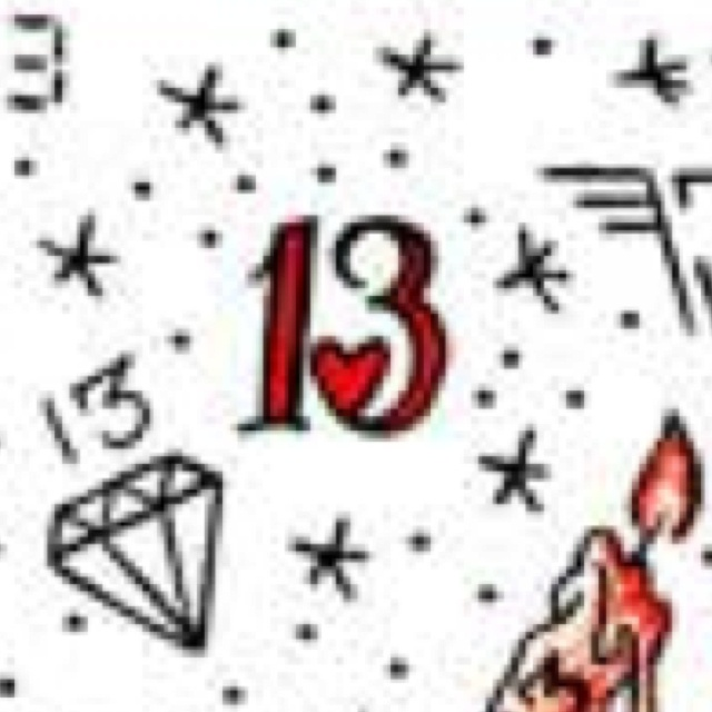 Lucky number: 13  lucky day: friday the thirteenth I'm getting this tattoo when my birthday falls on Friday the 13th