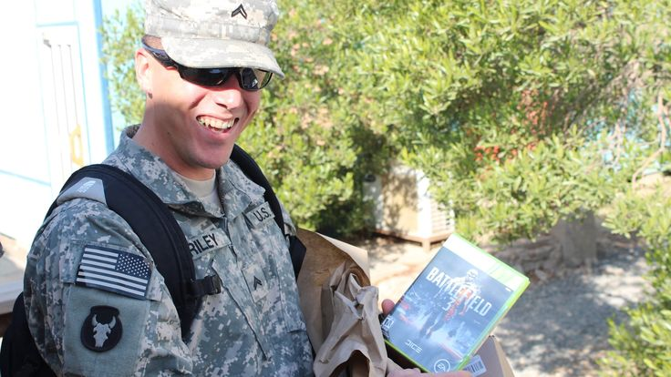 Care Packs to Troops!