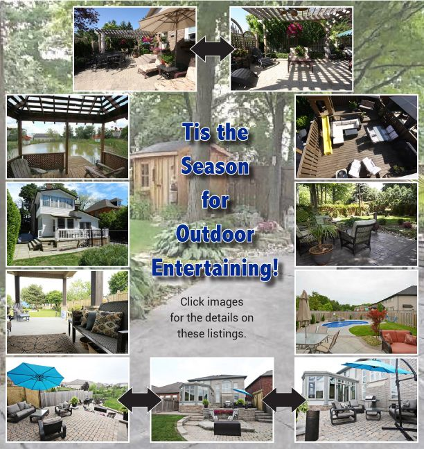 Tis the season for Outdoor Entertaining!