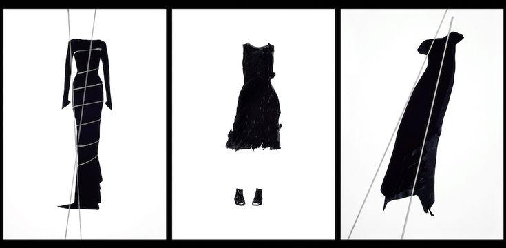 Disegnare la moda: quando il bozzetto incontra l'architettura