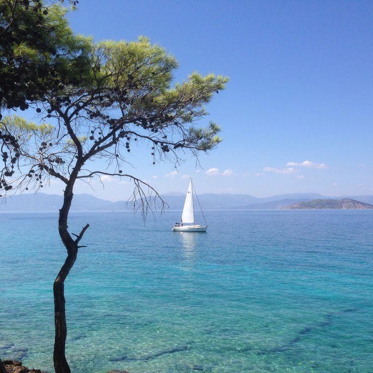 Dragonera beach.