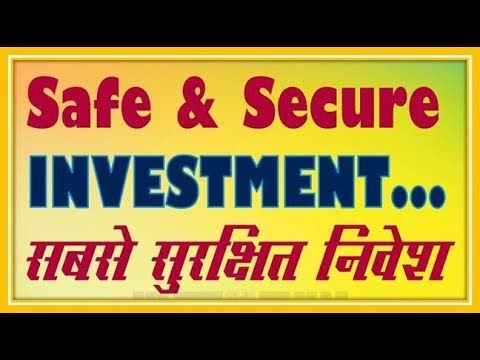 Safe and secure investment options in india