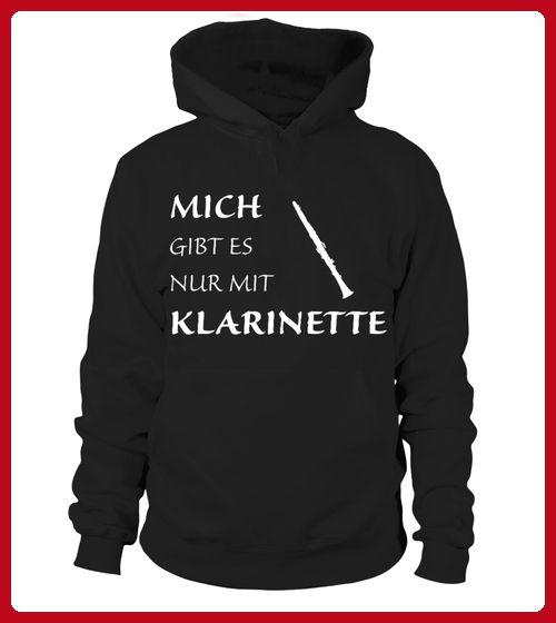 MICH GIBT ES NUR MIT KLARINETTE - Musik shirts (*Partner-Link)