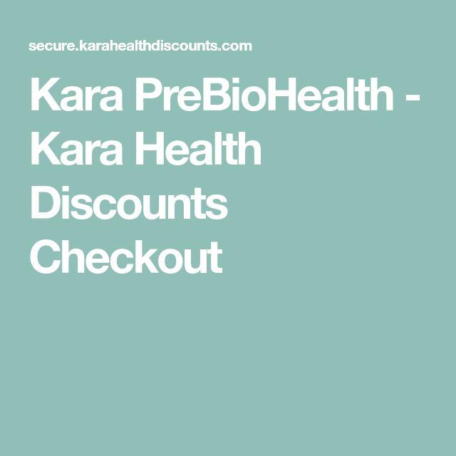 Kara Prebiohealth Kara Health Discounts Checkout
