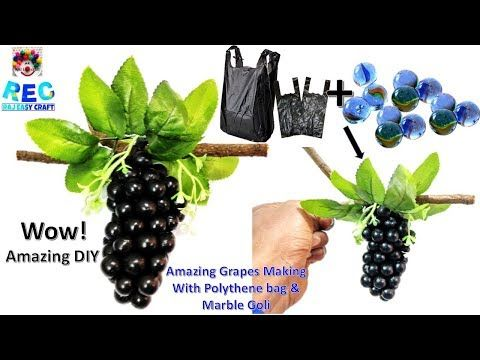 Handmade things of waste material || DIY || Room Decor - YouTube