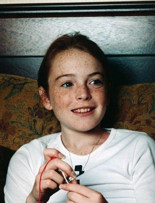 Young Lindsay Lohan