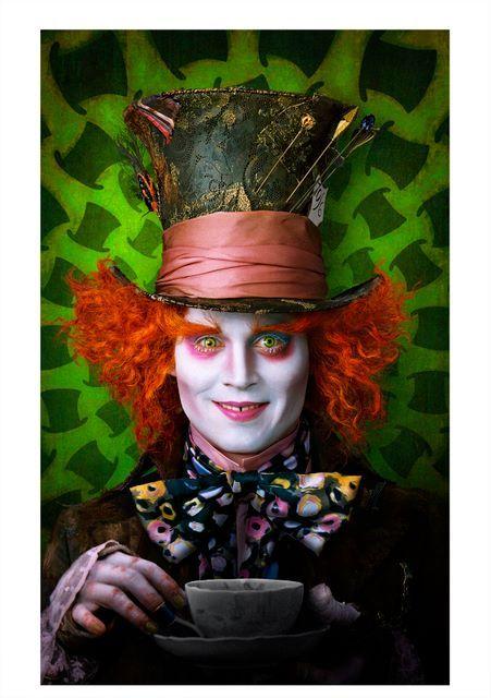 Alice in Wonderland - 5 abgedrehte Poster Arts zu Tim Burtons Film HIER! | MOVIE-INFOS News