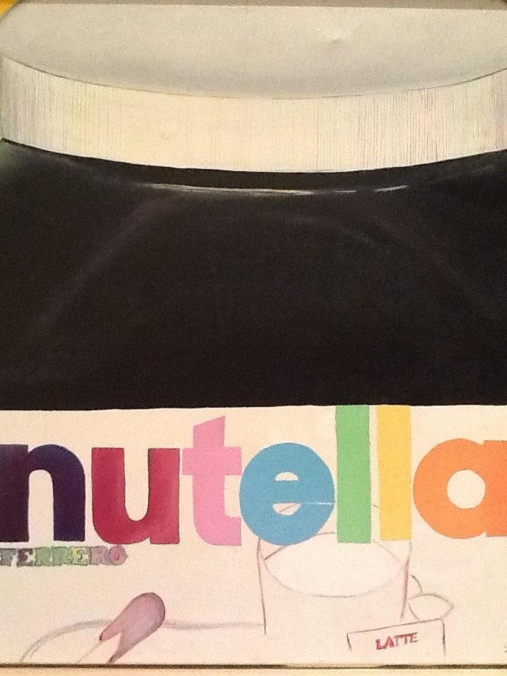 Nutella (omaggio ad Andy Wharol alla sua famosa Absolut)