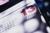 Happy Friday the 13th! Did you know less people drive on this day yet hospitals report more car accidents than usual? Drive safe today.