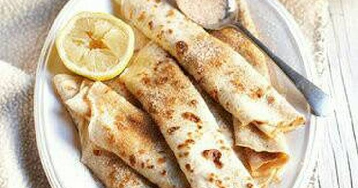 Great recipe for Traditional South African Pancakes. A.K.A cinnamon crepes if you're from somewhere other than South Africa. ;)