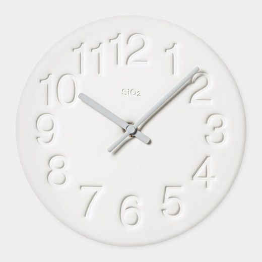 Diatomite Wall Clock (plaster) MoMA $69.95 Sale $62.95 Members