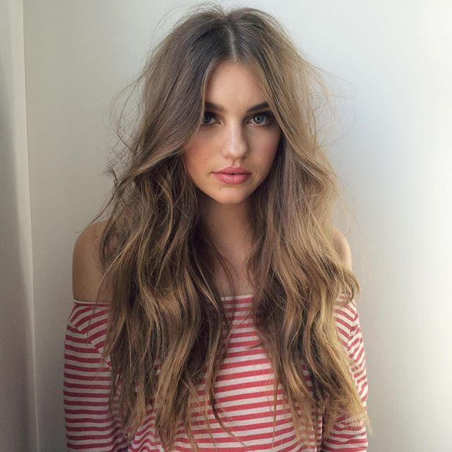 Browse Instagram-approved long hair inspiration  at @stylecaster | tousled long waves
