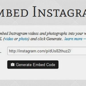 n BlogTech Time: Embed Instagram photos o