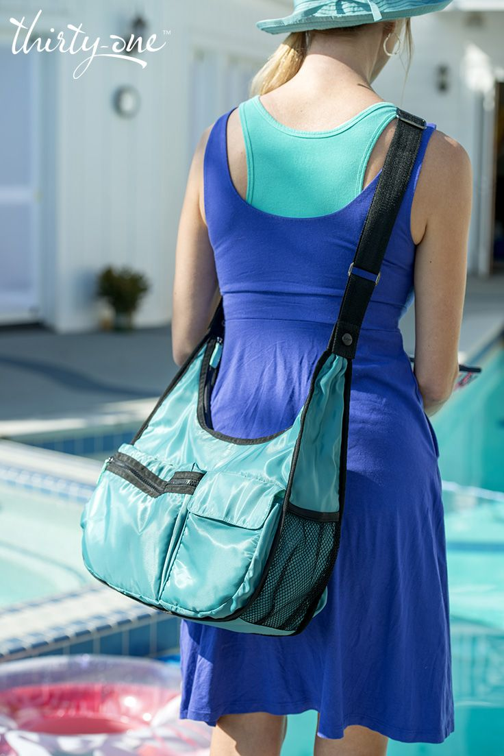 It's pool time with our Explorista Crossbody – did we mention you can wear it three ways?