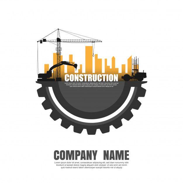 Construire Le Logo Du Batiment Building Logo Construction Company Logo Construction Logo Design