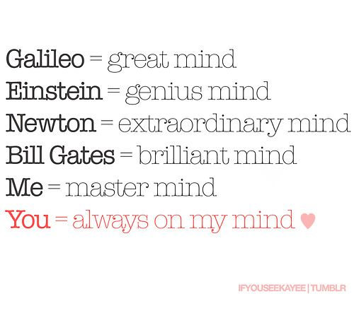 You Are Always On My Mind Follow Best Love Quotes On Tumblr For
