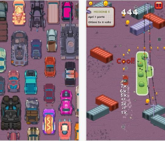 Pixel Drifters: auto veloci drift e grafica pixel-style