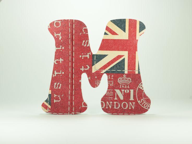 letras de madera para dormitorios infantiles estilo british