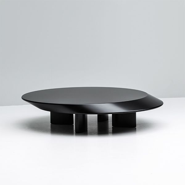 Charlotte Perriand; Lacquered Wood 'Accordo' Coffee Table by Cassina, ... - 25+ Best Ideas About Black Coffee Tables On Pinterest Interior