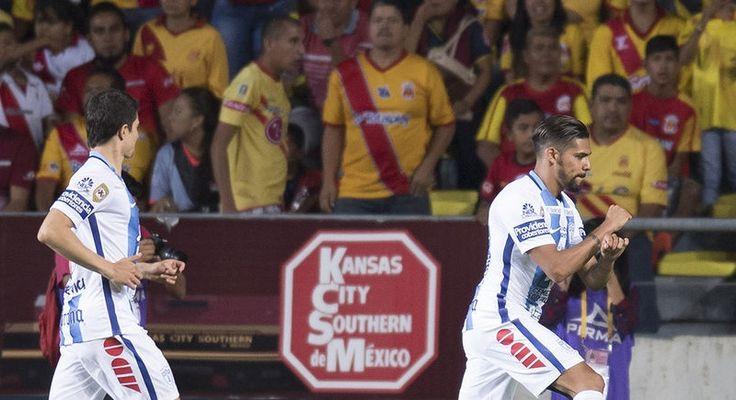 Los Tuzos golearon 5-1 de visitantes en Morelia, en partido de la fecha 10 del Apertura 2016 de la Liga MX, realizado la noche del martes en el Estadio Morelos ...