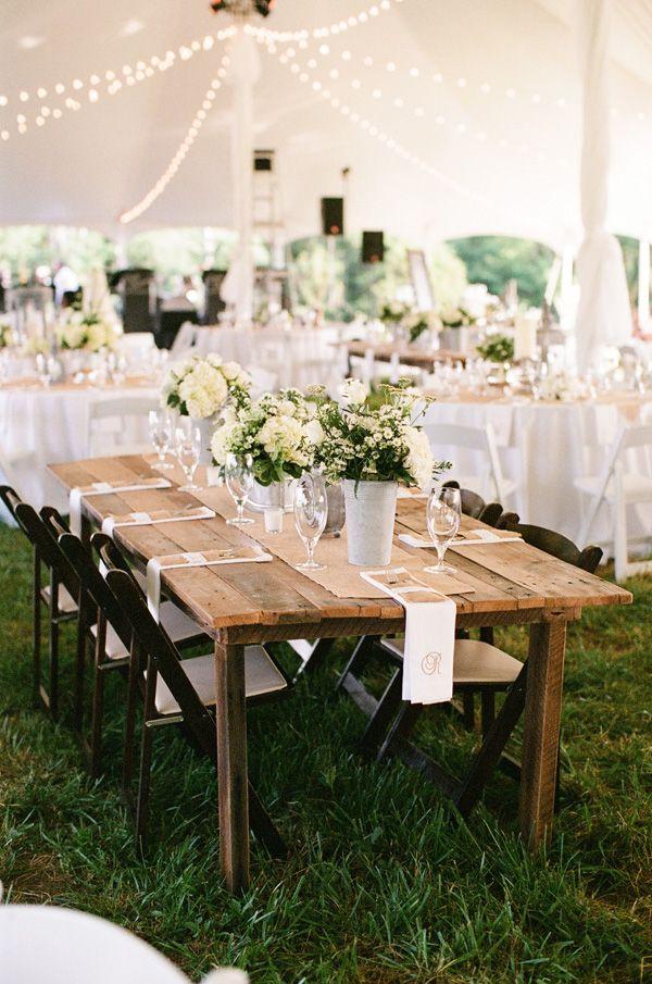 farm table | Mary Rosenbaum #wedding