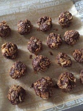 チアシード入りチョコフレーククッキー