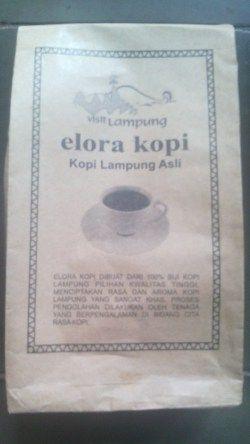 elora kopi : 100% Kopi Lampung Asli
