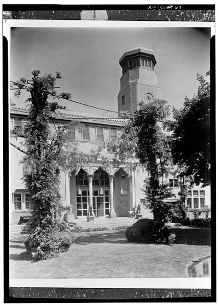 Laurelton Hall. Home of Louis Comfort Tiffany. Long Island NY. Demolished by fire.