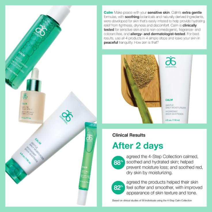 Calm line for sensitive skin. To send an order, book a party or be a part of my team, contact me anytime   http://www.arbonne.com/pws/tanyacarrington/tabs/home.aspx
