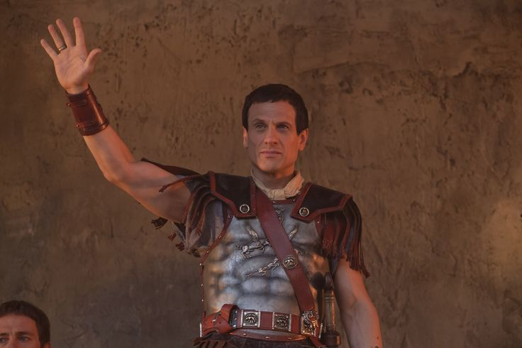 TV.com (Simon Merrells as Crassus) The Growth of a Republic: 6 Battles that Shaped Early Rome