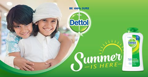 Stay fresh and beat the summer heat with Dettol's Shower Gel providing 100% better germ protection.