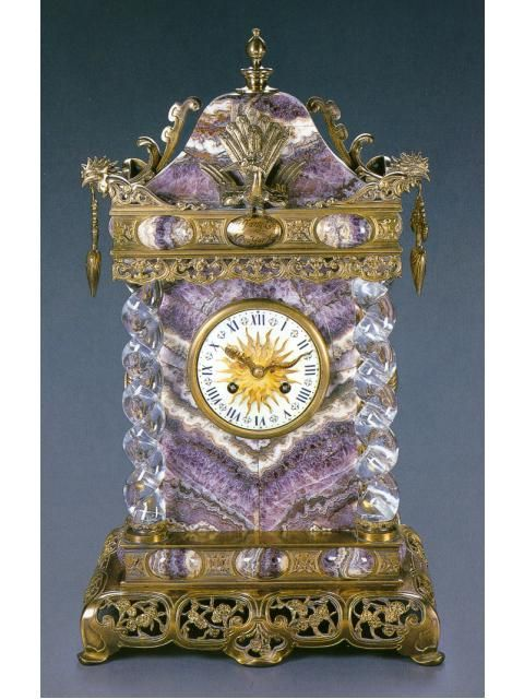 Bracket clock, Tiffany & Co., New York, made for the Chinese Market, circa 1900.