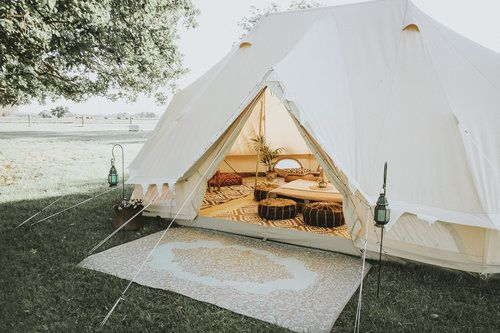 Summer Glamping at its best — A Curious Road