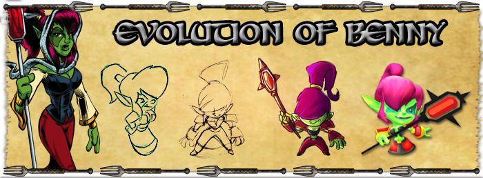 The Evolution of Benny. #LFG #Kickstarter