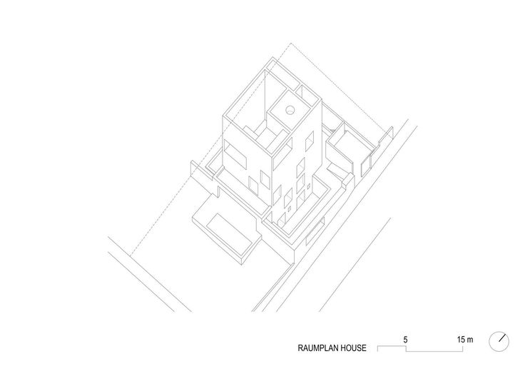 2+2+2 IS MUCH MORE THAN JUST 6 A Raumplan house.  The house is located on a sloping plot with a landscape of distant horizon none other than Madrid's western...