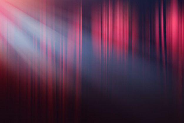 Luzes Desfocadas No Palco, Drama Teatro Mostram Plano De Fundo